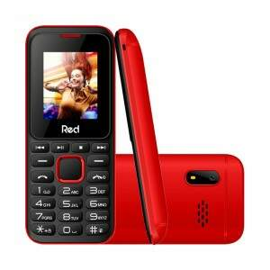 Celular Red Mobile Fit Music II M011G, Tela 1.8